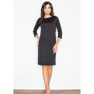 Dámské šaty M181 - Figl černá 38