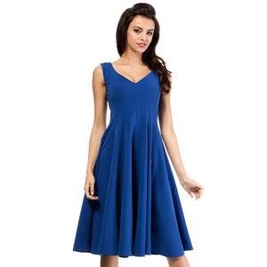 Dámské šaty M201 - Moe tmavě modrá M-38