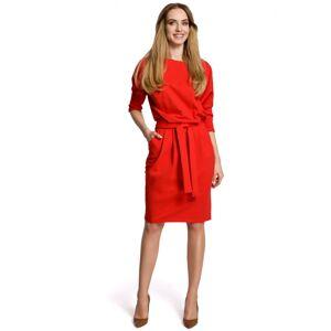 Dámské šaty M369 - Moe červená 38