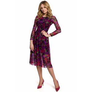 Večení šaty model K064 - Makover fialová XXL