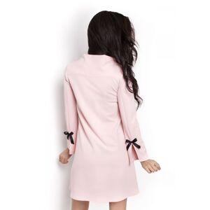 Dámské šaty Natalie 199 - IVON pudrovo-růžová 42
