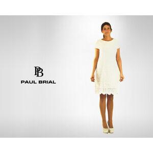 Dámské šaty Touareg - Paul Brial bílá S
