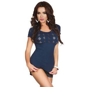 Dámské tričko Gabrielle - LivCo CORSETTI FASHION modrá L/XL