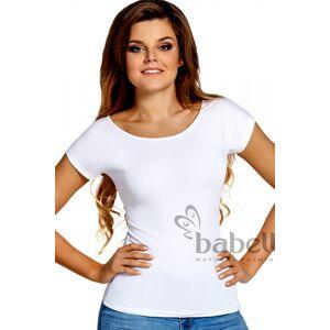 Dámské tričko Kiti white - BABELL bílá M