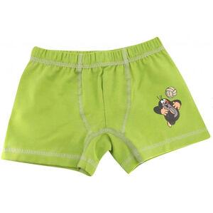 Dětské boxerky Boma zelené (KR003) 98