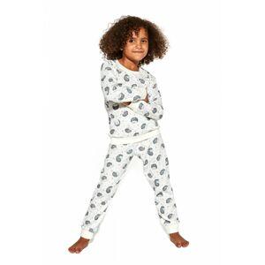 Dívčí pyžamo 032/141 Forest dreams 2 - CORNETTE krémová 98/104