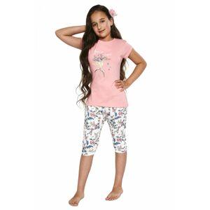 Dívčí pyžamo 490/88 - CORNETTE růžová 86/92