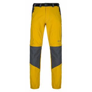Pánské outdoorové kalhoty Hosio-m žlutá - Kilpi XL