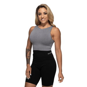 Better Bodies Top Rib Seamless Grey Melange S