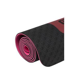 Gym Glamour Podložka Na Cvičení 6 mm Černo Růžová