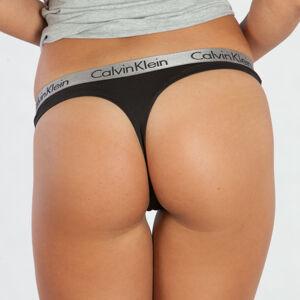 Calvin Klein Tanga Radiant Černá S
