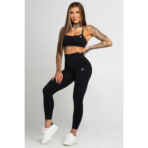 Gym Glamour Legíny Bezešvé Second Skin Black L