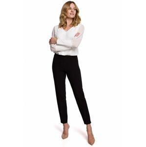 K055 Štíhlé kalhoty EU S. Černá