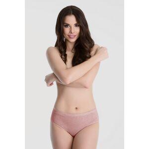 Kalhotky Cotton Classic světlerůžová - Julimex světle růžová L