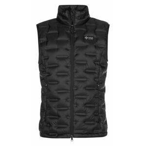 Pánská péřová vesta Kenai-m černá XS
