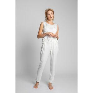 LA025 Viscose Pyjama Bottoms  EU L ecru