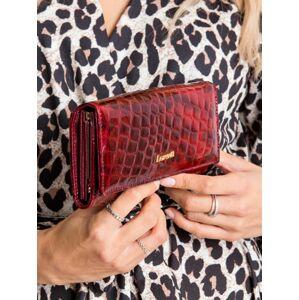 Lakovaná peněženka červená 72401-PT - FPrice červená vzor one size