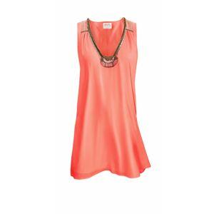 Maryan Melhorn Dámské plážové šaty 3129, Barva: oranžová, Velikost: M oranžová M