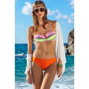 Dámské dvojdílné plavky Ewlon Bella oranžová 38