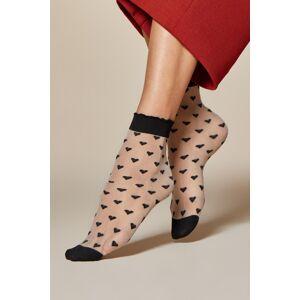 Dámské ponožky Fiore Jeunet 20 den plátno UNI