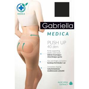 Punčochy Gabriella Medica Push-up 40 Den Code 128 nero 3-m