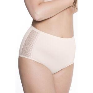 Klasické kalhotky Julimex Lingerie Opal panty béžová m