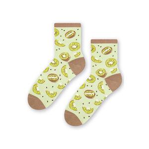 Dámské ponožky Steven 159-068 světle zelená 38-40