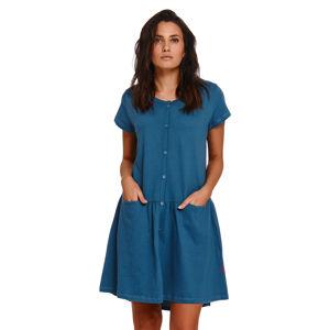 Těhotenská/kojící noční košile Doctor Nap TCB.9445 PACIFIK l