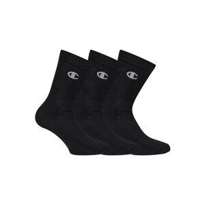 Ponožky Champion CH0008QG Černá 35-38