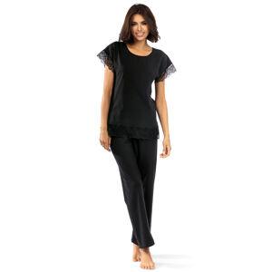 Dámské pyžamo Lorin P-1502 Černá 36
