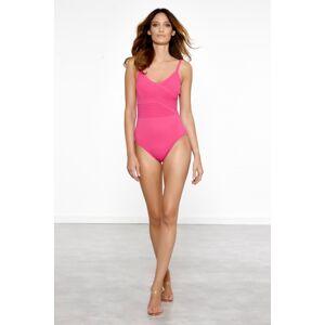 Meryan Melhorn  Dámské jednodílné plavky, Barva:  růžová, velikost: 42 42 růžová/42