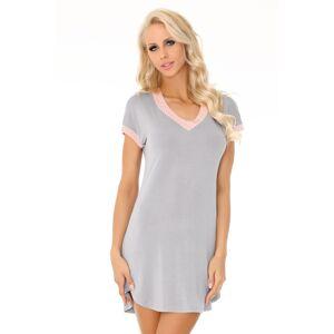 Noční košile Amarantta  - LivCo CORSETTI FASHION šedá S/M