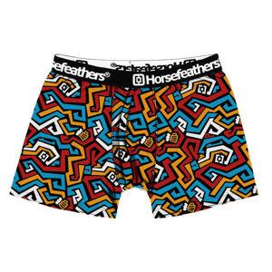 Pánské boxerky Horsefeathers Sidney maze (AM070Q) XXL