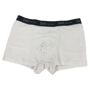 Pánské boxerky O1145 bílá s páskem - Dolce & Gabbana bílá XL