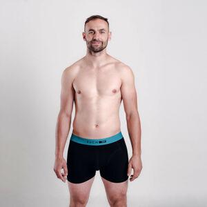 Pánské boxerky Vuch černé (Baldy) M
