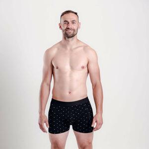 Pánské boxerky Vuch černé (Hardy) L