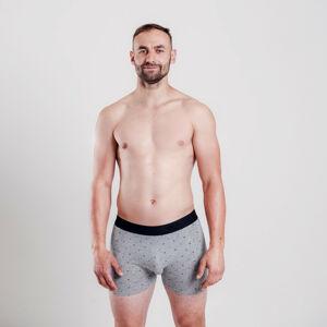 Pánské boxerky Vuch šedé (Skim) M
