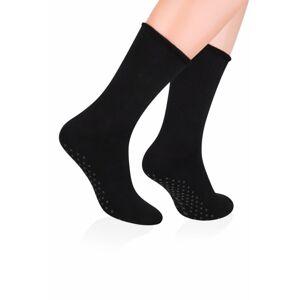 Pánské ponožky ABS 013 black - Steven černá 41/43