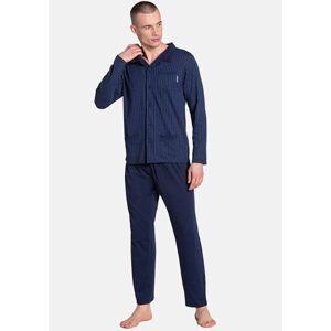 Pánské pyžamo Henderson 38363 XXL Tm. modrá