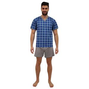 Pánské pyžamo Lonka modré (vzor 98) XL