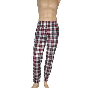 Pánské pyžamové kalhoty Krata 362 - De Lafense červeno černá 3XL