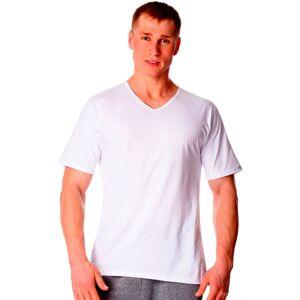 Pánské tričko 201 new plus white - CORNETTE bílá 5XL