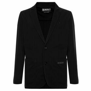 Pánský Blazer Černý - Freddy černá XL