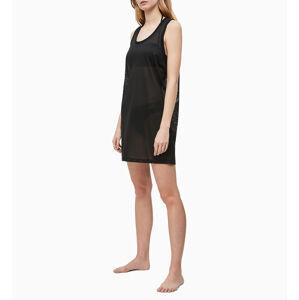 Plážové šaty KW0KW00788-BEH černá - Calvin Klein černá L