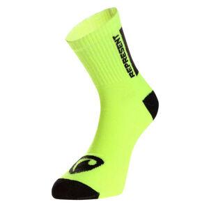 Ponožky Represent long simply logo yellow S