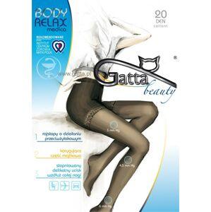 Dámské punčochové kalhoty BODY RELAXMEDICA 20 DEN - GATTA zlatá 5-XL