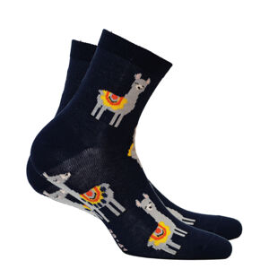Dámské vzorované ponožky PERFECT WOMAN Námořnictvo 39/41