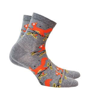 Dámské vzorované ponožky PERFECT WOMAN SMOKY 36/38