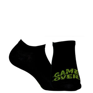 Pánské kotníkové ponožky CASUAL Černá 39-41