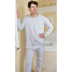 Pánský nátělník s dlouhými rukávy šedá M